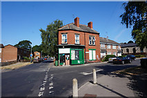 SE2837 : Green Road at Church Lane, Meanwood, Leeds by Ian S