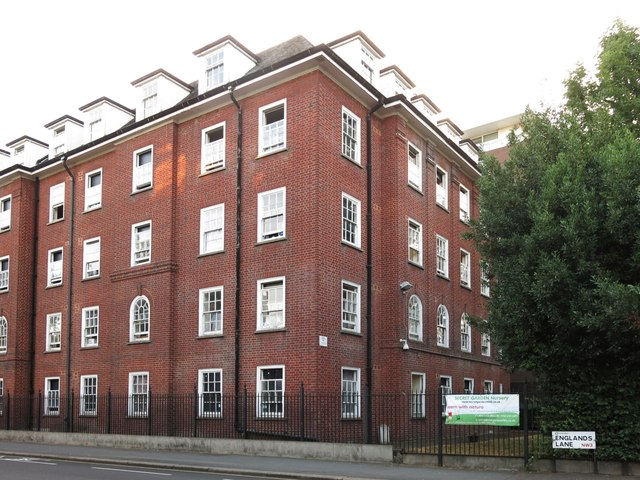 (Part of) the former nurses home, England's Lane / Haverstock Hill, NW3 (2)