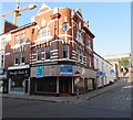 ST3187 : Vacant city centre corner shop to let, Newport by Jaggery
