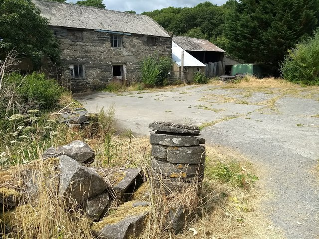 Outbuildings at Plas-newydd
