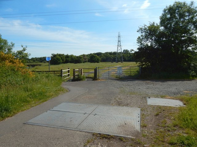 The Howgate meets a footpath