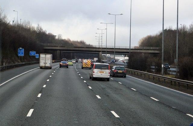 Junction 8 overbridges, M25