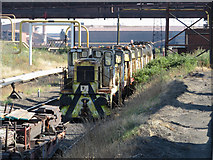SE9110 : Withdrawn locomotives at Scunthorpe Steelworks by Gareth James
