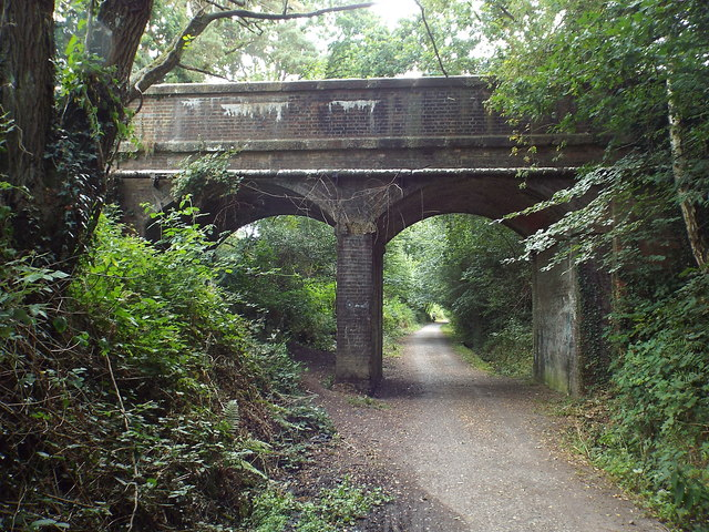 Bridge over Forest Way, Forest Row