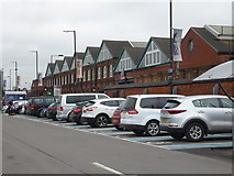 SU1484 : Designer outlet centre and car park by Chris Allen
