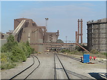 SE9208 : Scunthorpe Steelworks by Gareth James