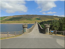SE0676 : The Dam holding back the Waters of Scar House Reservoir by Chris Heaton