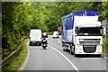 W5357 : HGV on the N71 near Innishannon by David Dixon