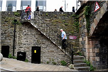 C4316 : Steps to Derry Walls by Kenneth  Allen