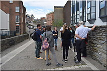 C4316 : Tourists, Derry City Walls by Kenneth  Allen