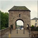 SO5012 : The Monnow Bridge, Monmouth by Jonathan Billinger