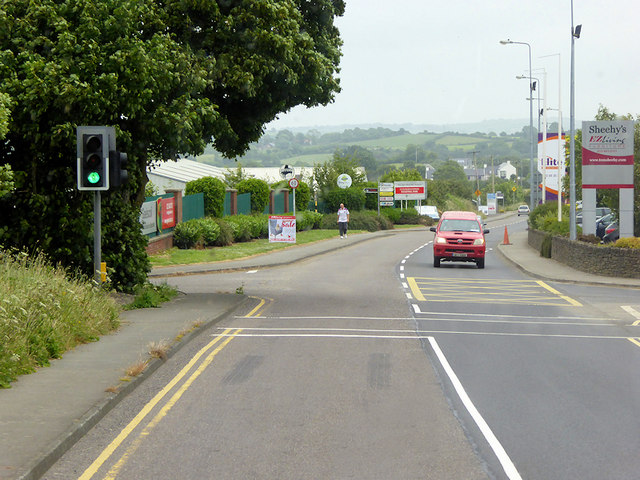 Traffic Lights on the Bandon Relief Road