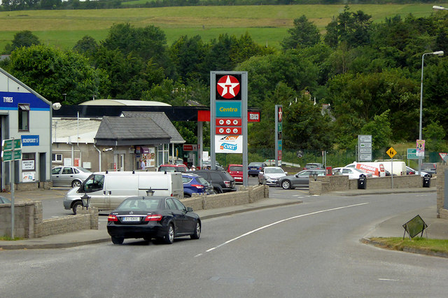 Filling Station on the N71 at Bandon
