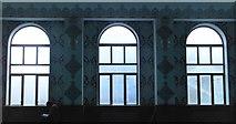 TQ3385 : Windows, Aziziye Mosque, Stoke Newington Road by Robin Sones