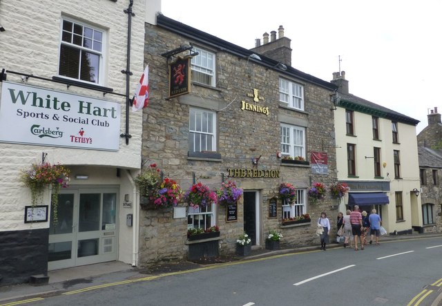 The Red Lion, Finkle Street, Sedbergh