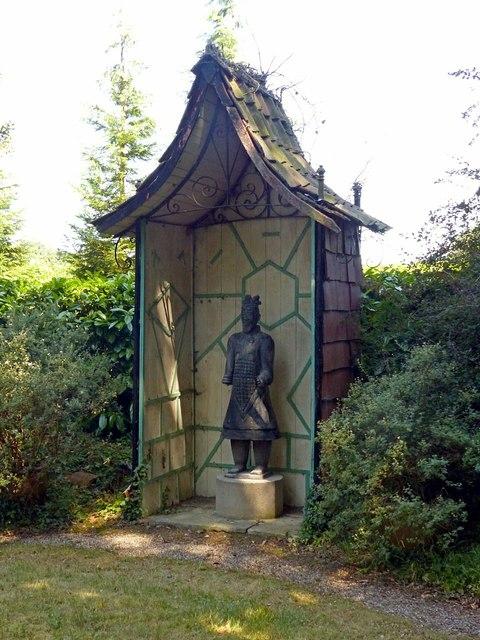 Chinese Garden, Whatton House, pagoda