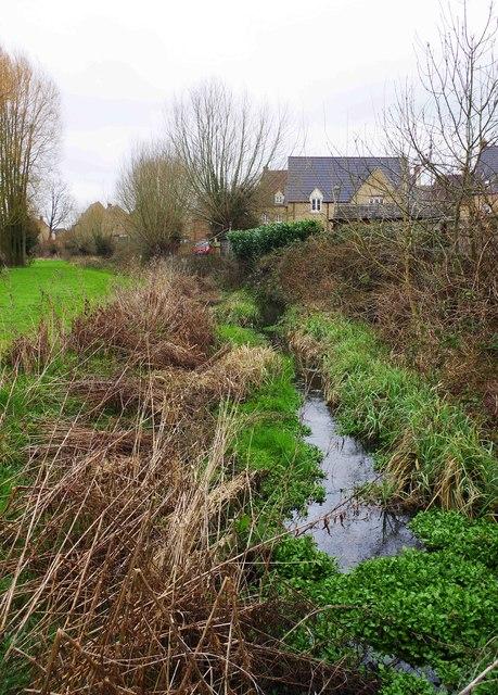 Emma's Dike near Gordon Way, Witney, Oxon