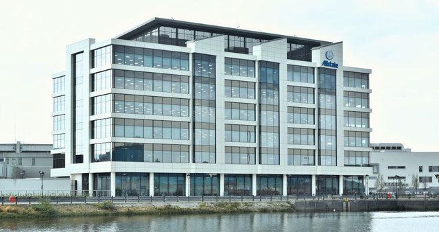 Allstate offices, Maysfields, Belfast (July 2018)
