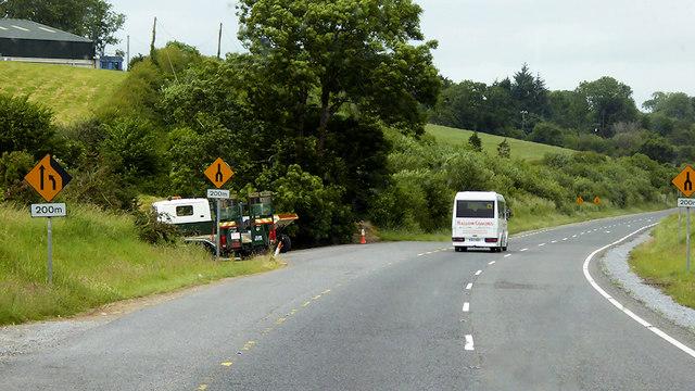 Bandon Road, End of Dual Carriageway Section near Cork