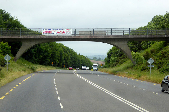 Bridge over the N71 at Liberty Hill