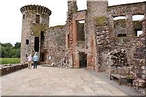 NY0265 : West Range, Caerlaverock Castle by Billy McCrorie