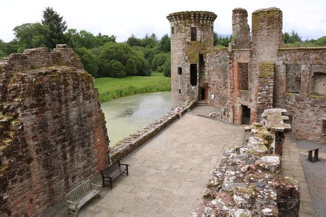 West Range, Caerlaverock Castle