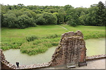 NY0265 : Rear Wall, Caerlaverock Castle by Billy McCrorie