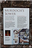 NY0265 : History of Murdoch's Tower, Caerlaverock Castle by Billy McCrorie