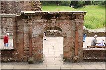 NY0265 : Archway, Caerlaverock Castle by Billy McCrorie