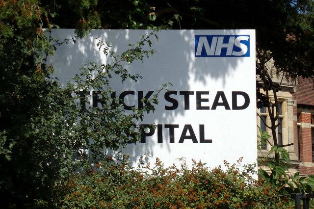 Patrick Stead Hospital sign