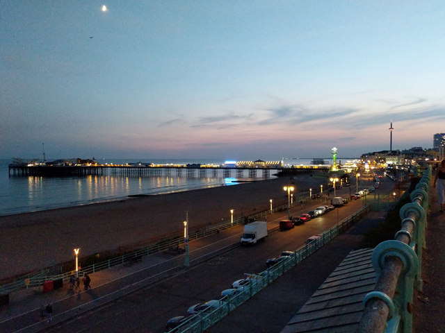 Brighton seafront and Palace Pier