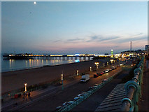 TQ3103 : Brighton seafront and Palace Pier by Robin Webster