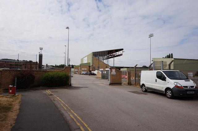 Sincil Bank Football Stadium, Lincoln