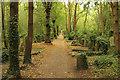 TQ2886 : Highgate East Cemetery by Richard Croft