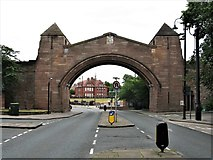 SJ4066 : Newgate, Pepper Street, Chester by G Laird