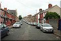 ST2077 : Pearl Street, Cardiff by Derek Harper