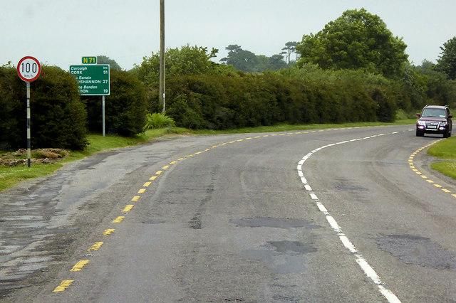 N71 north of Clonakilty