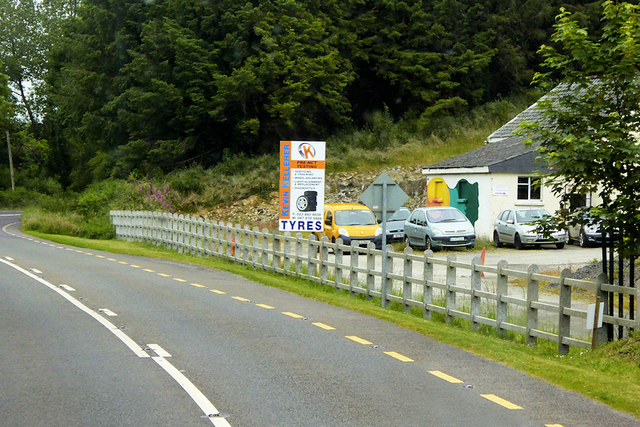 Kevin Kelleher Tyre Centre on the N71