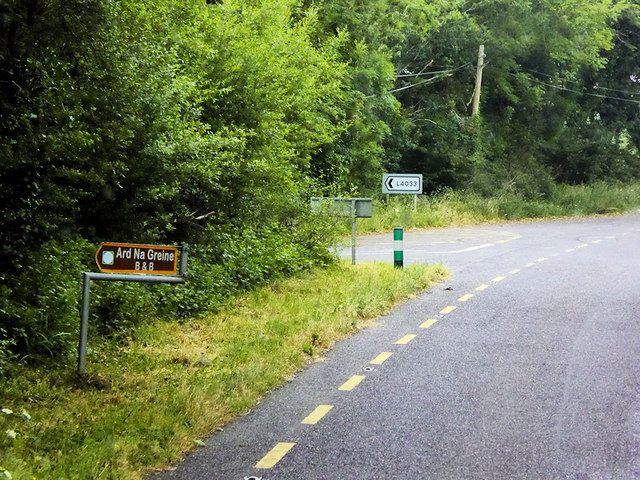 Minor Junction on the N71 north of Ballinascarty