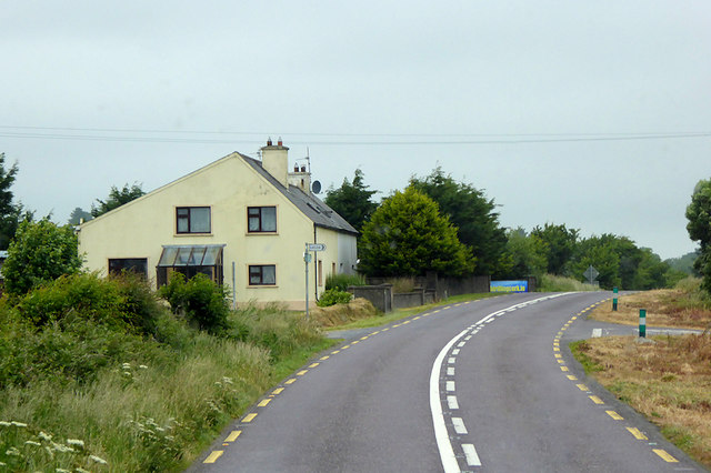 House on the N71 near to Pedlars Cross Roads