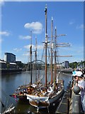 NZ4057 : Tall Ships at Manor Quay by John M