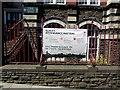 ST3187 : School Attendance Matters banner, Stow Hill, Newport by Jaggery