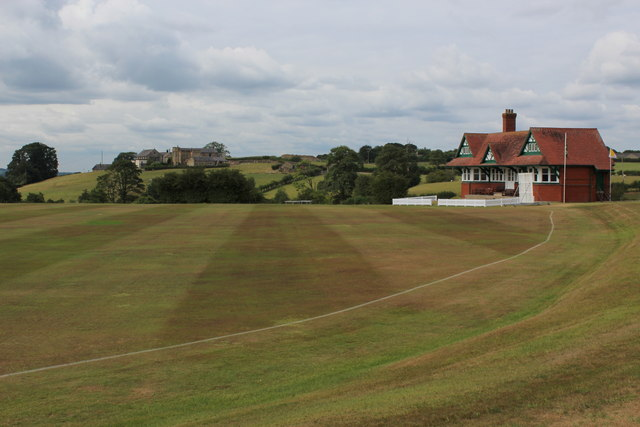 Cricket Pavilion and Pitch, Stonyhurst College