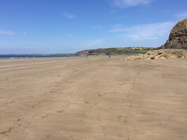 The beach at Broad Haven