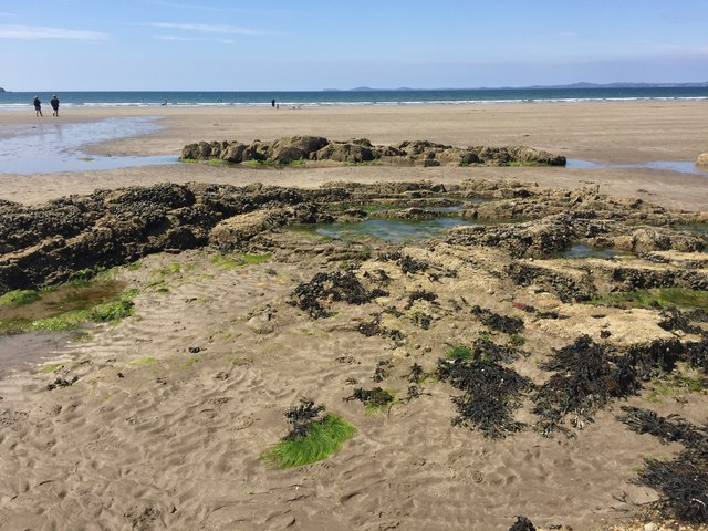 Low tide at Little Haven