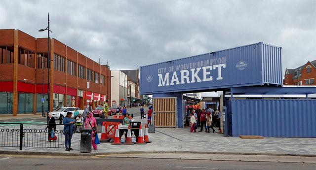 298b05433311d New market entrance in Wolverhampton © Roger Kidd cc-by-sa 2.0 ...