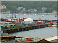 SW8132 : Falmouth Docks from Pendennis Rise by Chris Allen