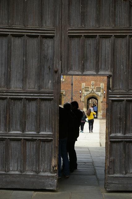 Main entrance to St John's College, Cambridge