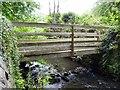 SK3742 : Footbridge over Bottle Brook by Ian Calderwood