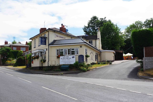 The Cross Inn (1), 34 Alcester Road, Finstall near Bromsgrove, Worcs